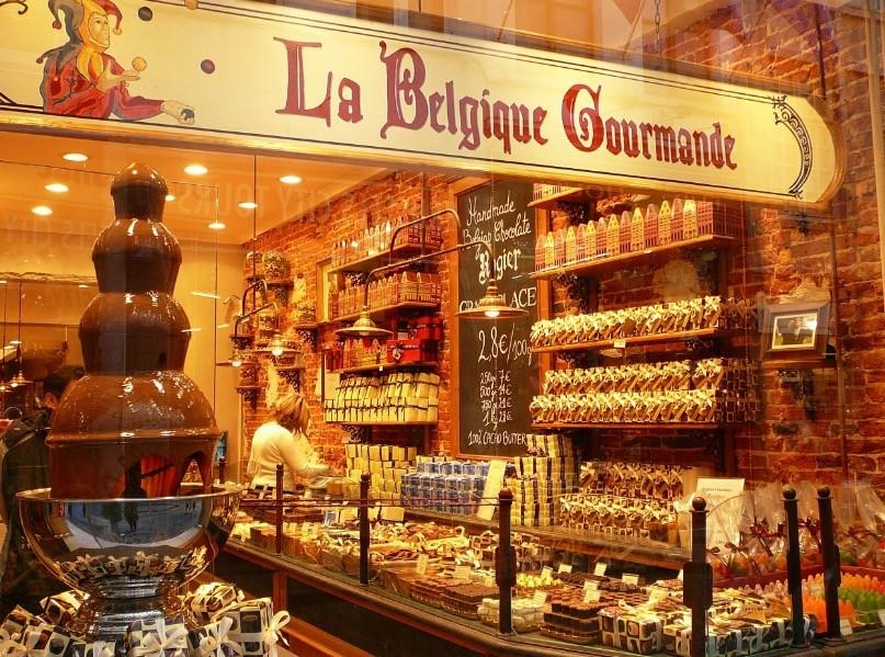 ベルギーのチョコ