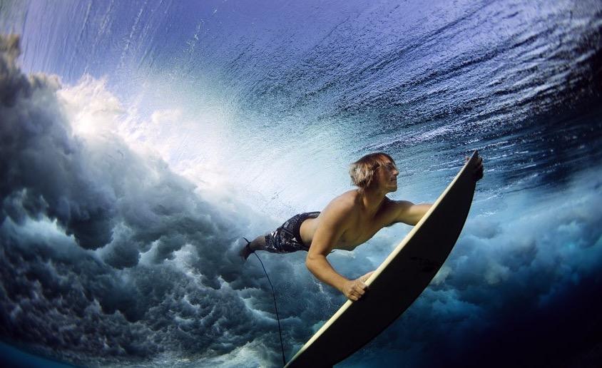 SurfingUnderwater