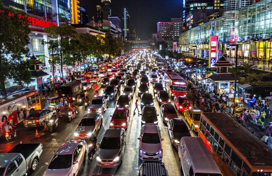BangkokHeavyTrafficJam