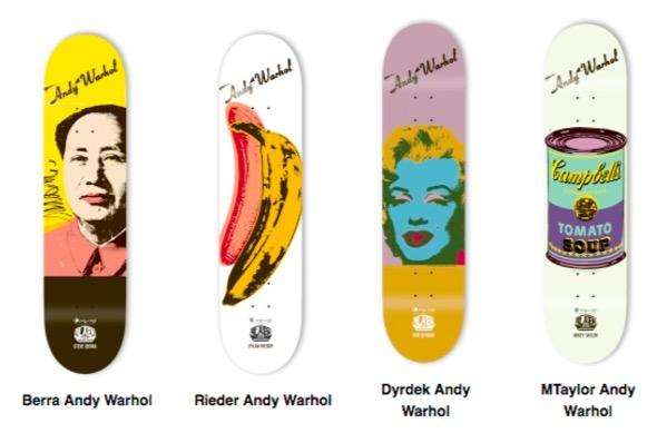 AndyWarhol-Skatedeck