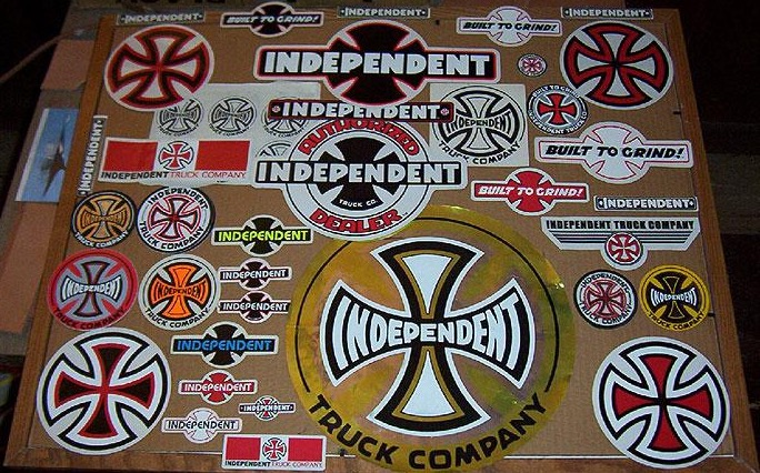 Independent-Sticker