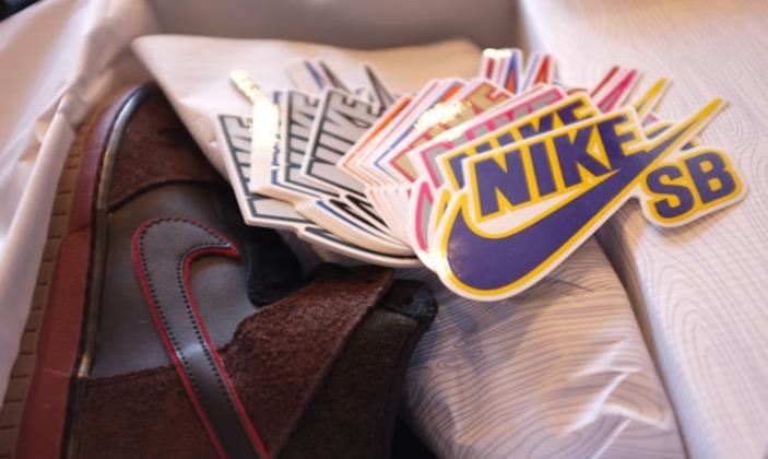 Nike SB-Sticker