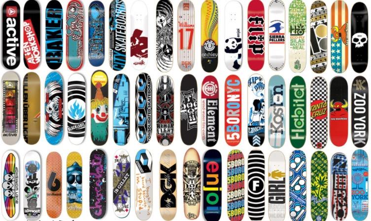 Skateboard-Decks