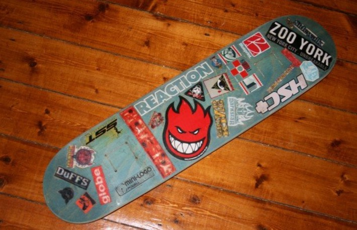 Skatedeck-Sticker