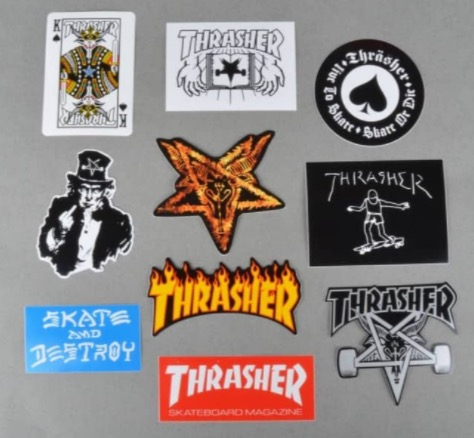 Thrasher-Sticker