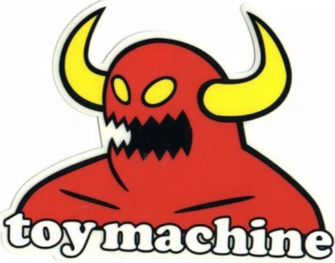 Toy Machine-Sticker