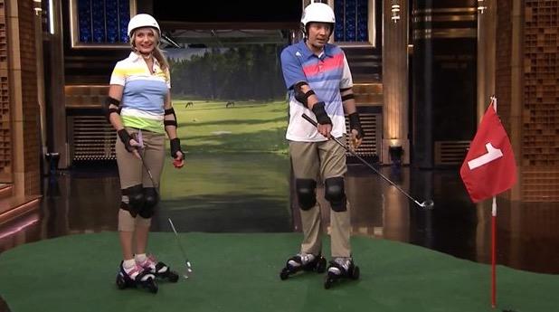 Cameron Diaz-golf