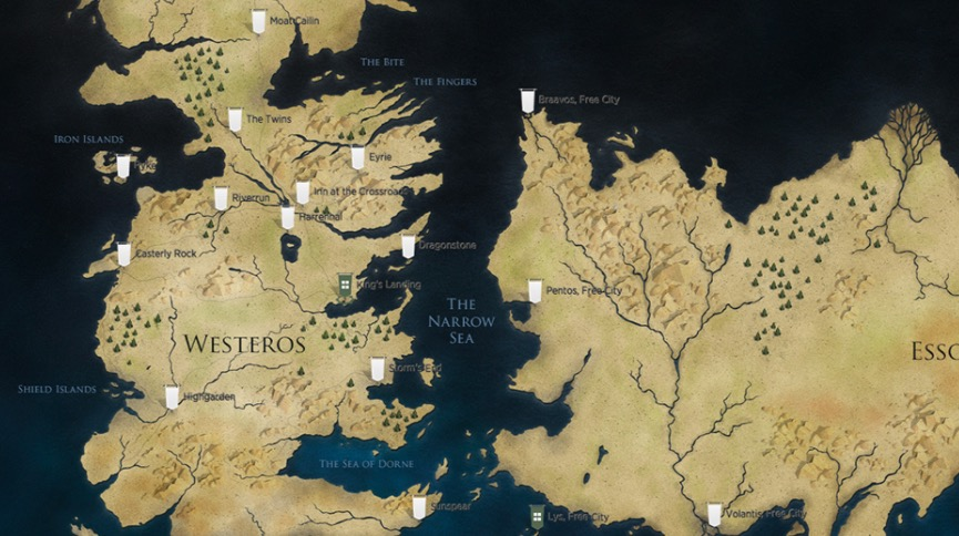 GameOfThrones-MAP